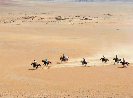 The Desert Ride | Horse Riding Holidays Namibia