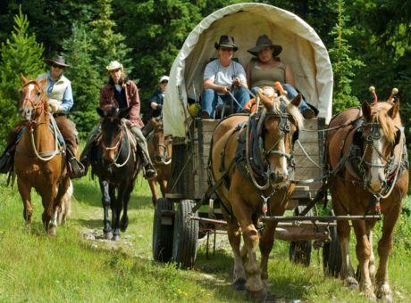 Anchor D | Horse riding Holidays Canada