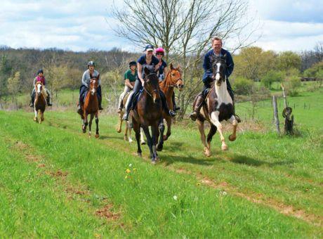 Aveyron Farmhouse | Horse Riding Holidays France