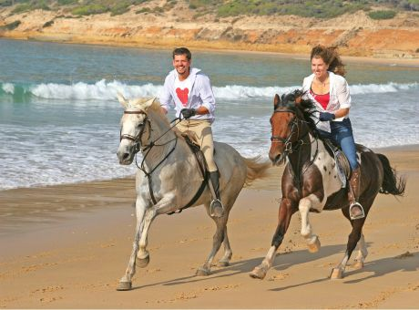 Beach Ride | Horse Riding Holidays Spain