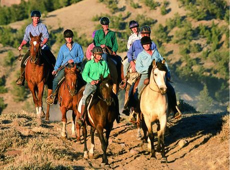 Bitterroot Ranch | Horse Riding Holidays USA