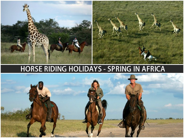 2015 Spring in Africa Horse Riding Holidays Offer
