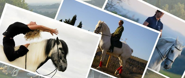 Horses and Yoga in Tuscan, Italy