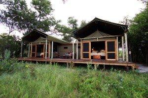 Michael and Louise on RAW Botswana Safari6