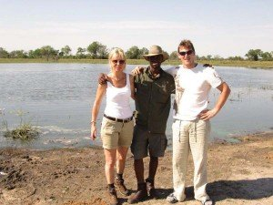 Michael and Louise on RAW Botswana Safari8