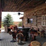 Saloon outside - Mustang Monument Horse Riding Holidays