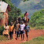 Village Kids - Nile Horseback Safaris Uganda